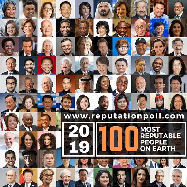 Akufo-Addo, Bishop Dag Named In 2019 List Of 100 Most Reputable People