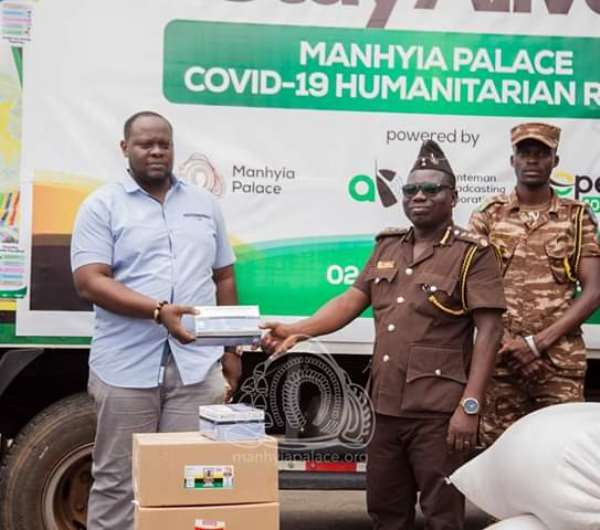Otumfuo Donate To Three Prisoners