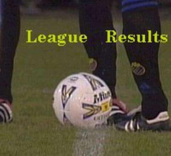 Premier League Results of 13th week