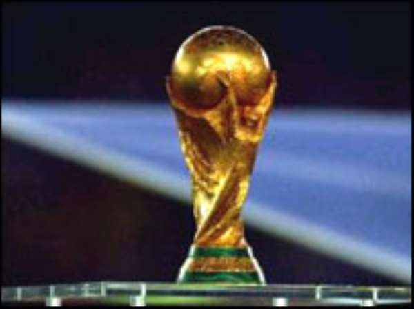 World Cup Trophy arrives in Accra