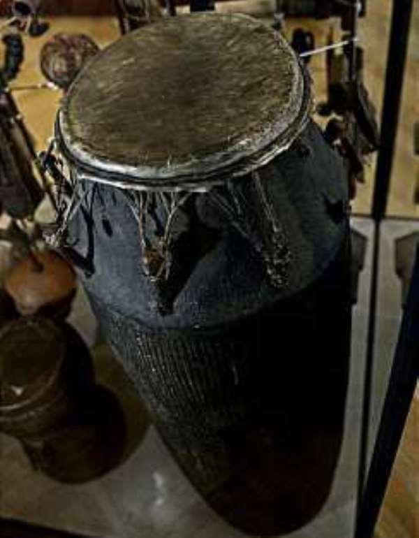 Ghana lays claim to sacrificial drum