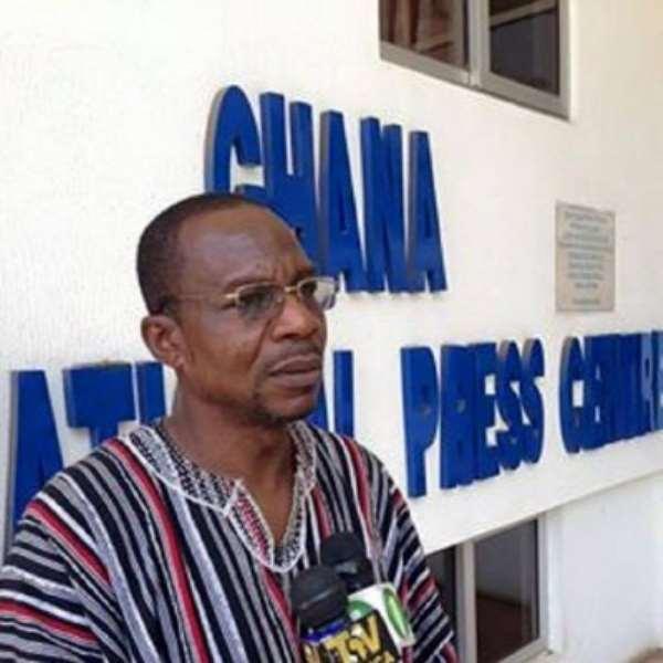 Affail Monney, President of Ghana Journalist Association