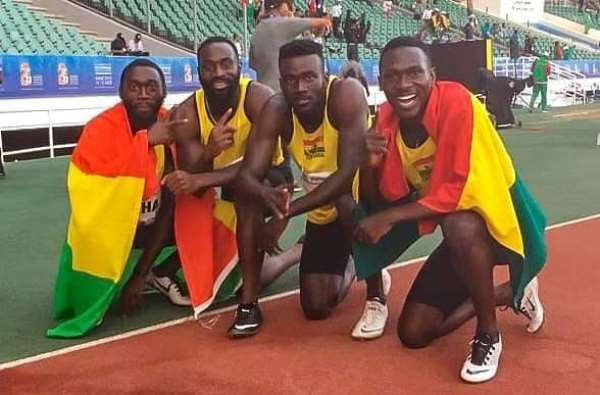 World Relays: Ghana men's 4x100m Relay team qualify for Tokyo Olympics