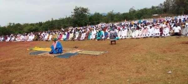 Muslims in Tano North Municipality celebrate Eid- Ul -Fitr