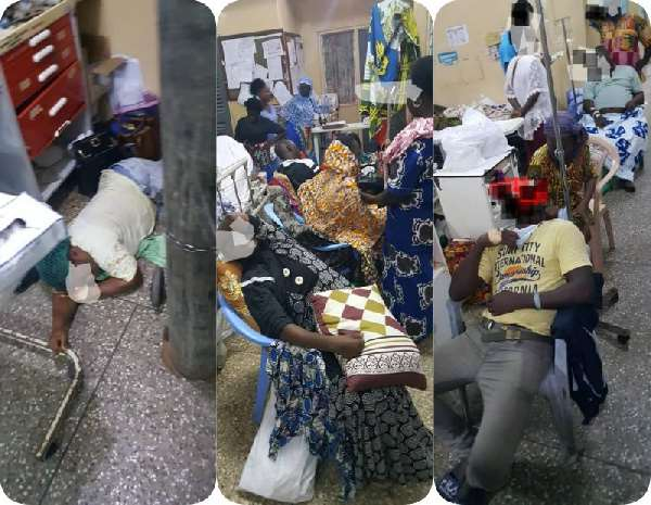 There was no bed for me in my own ward when I fell sick – Korle Bu doctor