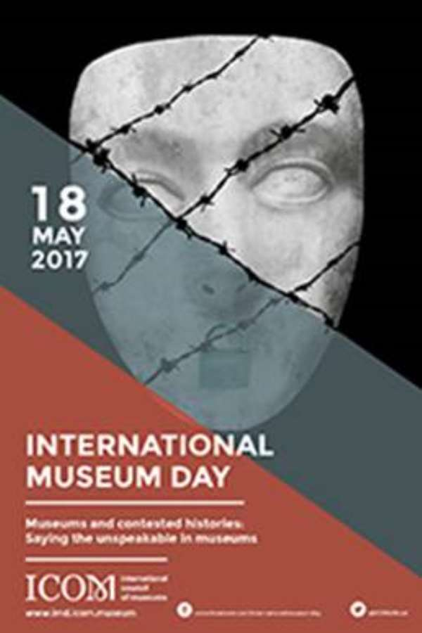 Poster for the International Museum Day 2017.