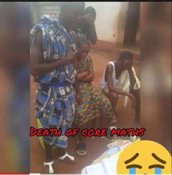 Tamasco Students Performed Final Funeral Rites, Burial Service Of Core Maths