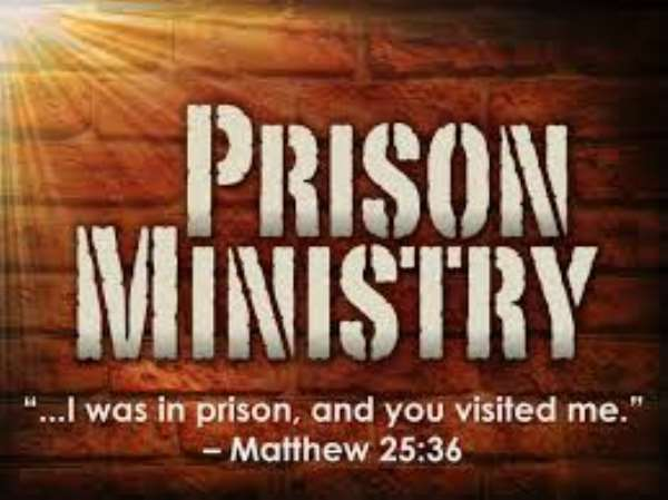 Construction of Prison Facilities: Why the church is a major stakeholder
