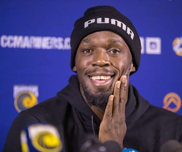 Jamaican Sprint King Bolt Becomes Father For First Time