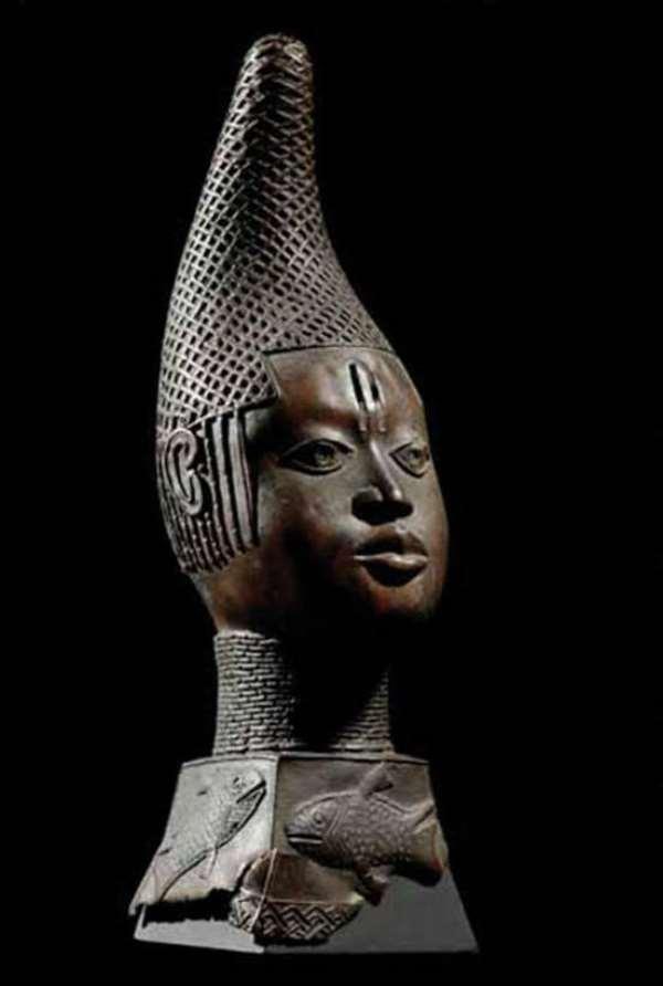 Queen-Mother Idia, Benin, Nigeria, now in the Ethnology Museum, Berlin, Germany.