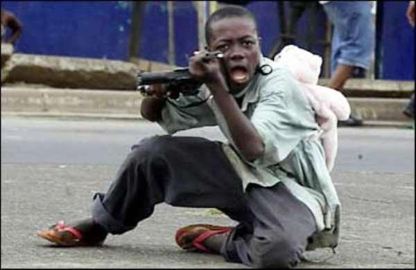 Fear Grips Ghanaian Soldiers
