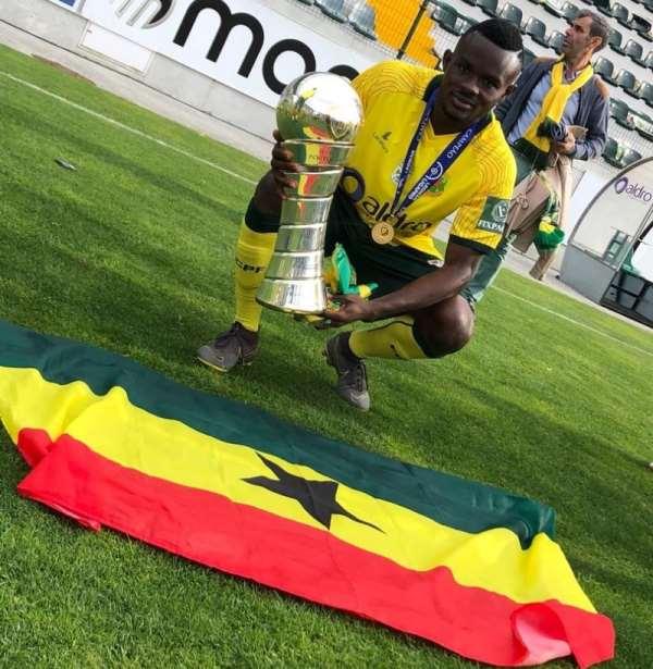 Ghana's Paul Ayongo Helps Paços de Ferreira To Secure Portuguese Liga Promotion