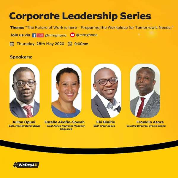 MTN Executive Business Breakfast Gathers Seasoned Professionals To Discuss 'The Future Of Work'