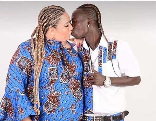Patapaa's wife to be a mother soon?