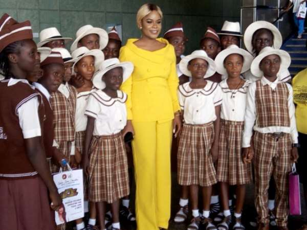 Children's Day:QIOP  Foundation gives educational materials, scholarship to students in FCT