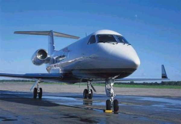 Kufuor Flies The Presidential Jet (1)