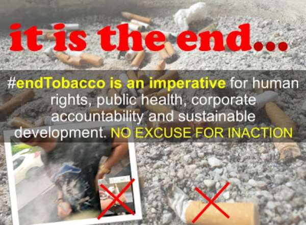 No Excuse For Inaction: #EndTobacco To Prevent Epidemics Of Diseases And Deaths