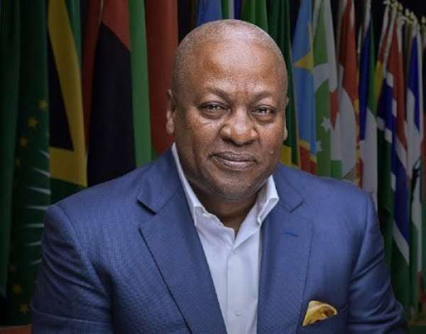 Be tolerant of criticism from media, CSOs devoid of intimidation – Mahama to Akufo-Addo