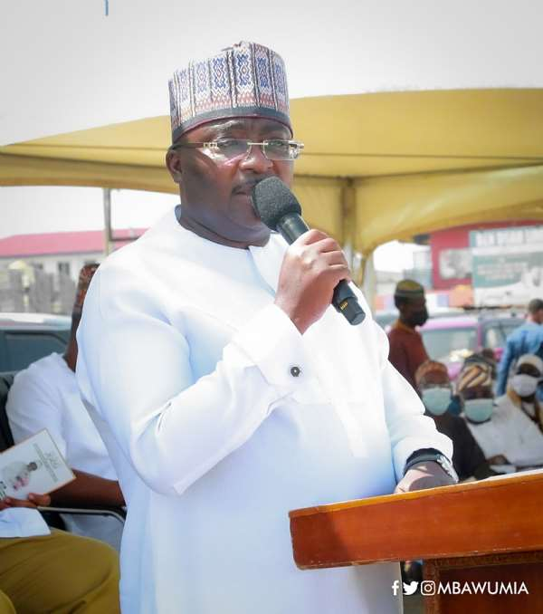 Bawumia insists Free SHS has not compromised quality