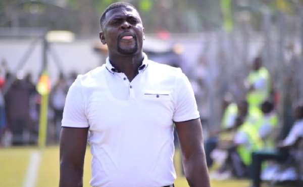 Hearts of Oak head coach Samuel Boadu