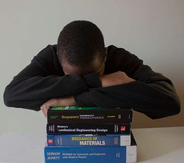 The pandemic has driven university students' stress levels up as they grapple with remote learning. - Source: thembi.jpg/Shutterstock/For editorial use only