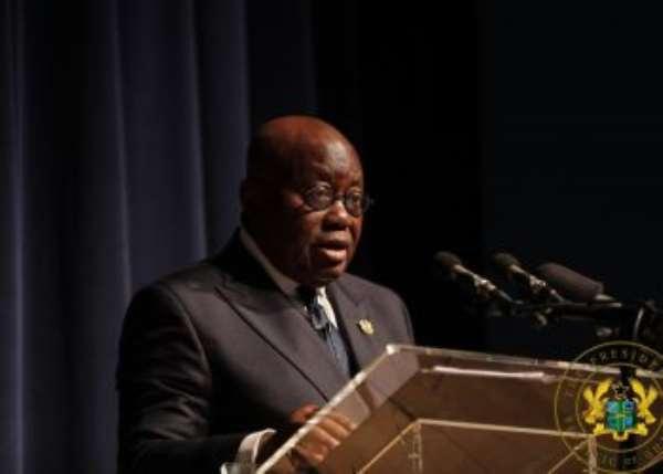 Galamsey fight: Akufo-Addo renews commitment