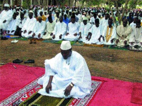 Muslims End Fasting With Eid-el-Fitr