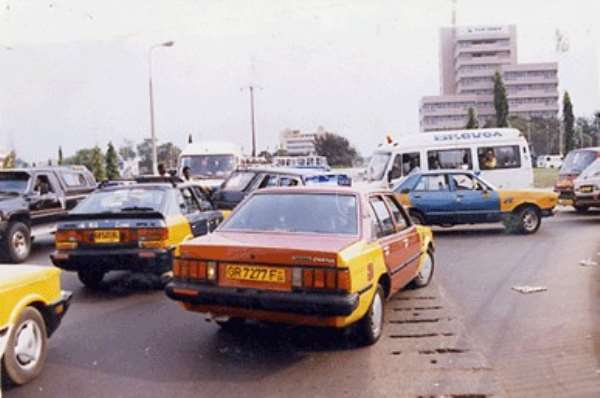 Driving In Ghana  (Part 2 of 3)