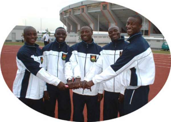 Athletics Team For Camp In Germany