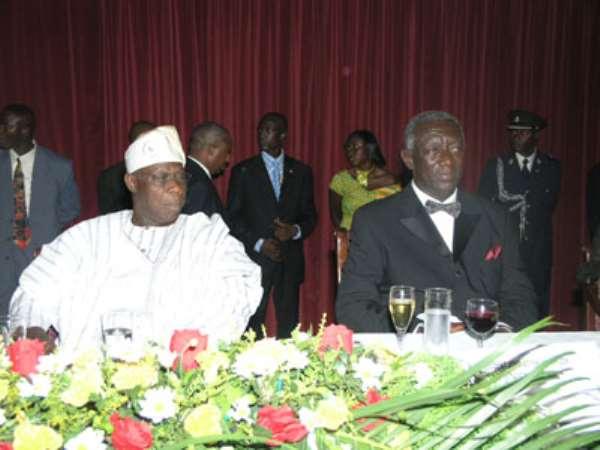 Kufuor warns Obasanjo