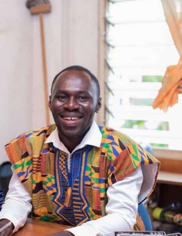 The Writer, Richmond Ofori-Boafo