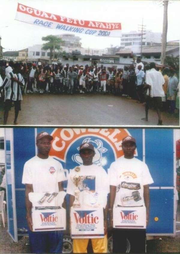 Two Nigerians For Afahye Walk