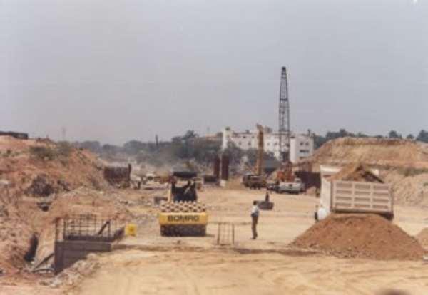 Work On Tetteh Quashie Interchange Stops, As ...