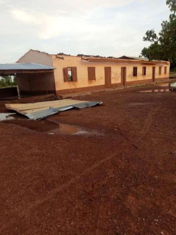 Bawku: Rainstorm Renders Hundreds Homeless At Kuka-Zuli