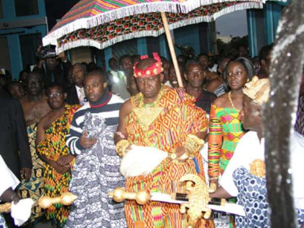 Appoint Minister For Chieftaincy Affairs -Asantehene