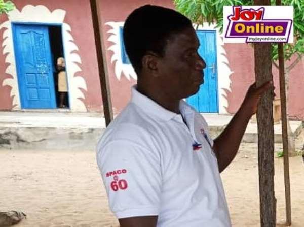 Innocent Agblevor is the headteacher of Kekeli Preparatory school in Aflao.