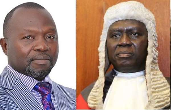 Your petition to GLC is disproportionate interference with Dominic Ayine's rights — Minority jabs CJ
