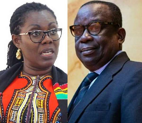 Kan-Dapaah, Ursula kicked out from Akufo-Addo's second term cabinet