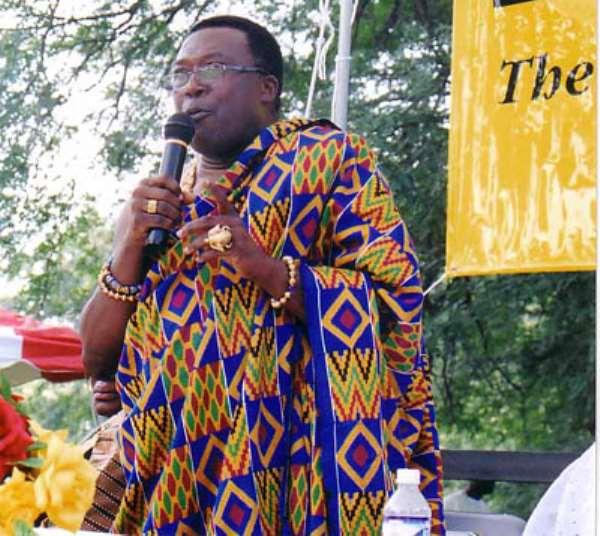 Speech delivered by Dr. Martin La-Kumi  at the Ghanafest
