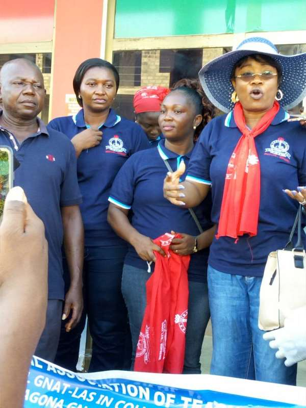 GNAT Ladies Undertakes Massive Clean Up Exercise At Agona Swedru