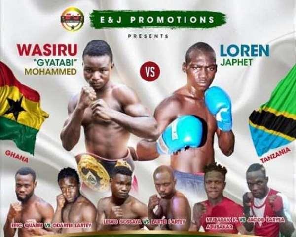 New Date For Wasiru Mohammed Versus Loren Japhet Fight