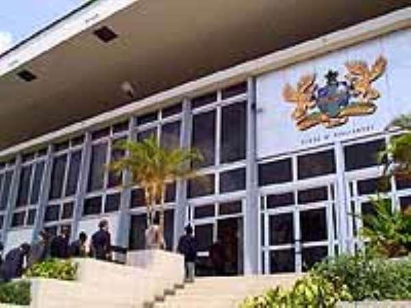 Parliament relocates at Banquet Hall