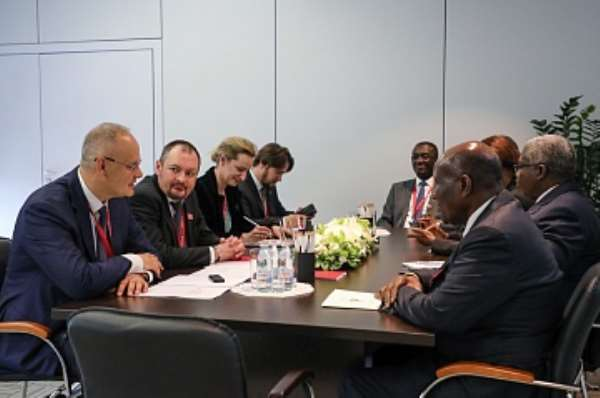 Russia, Côte d'Ivoire Discuss Cooperation At SPIEF'19