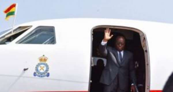 Akufo-Addo Fly To Jamaica Today