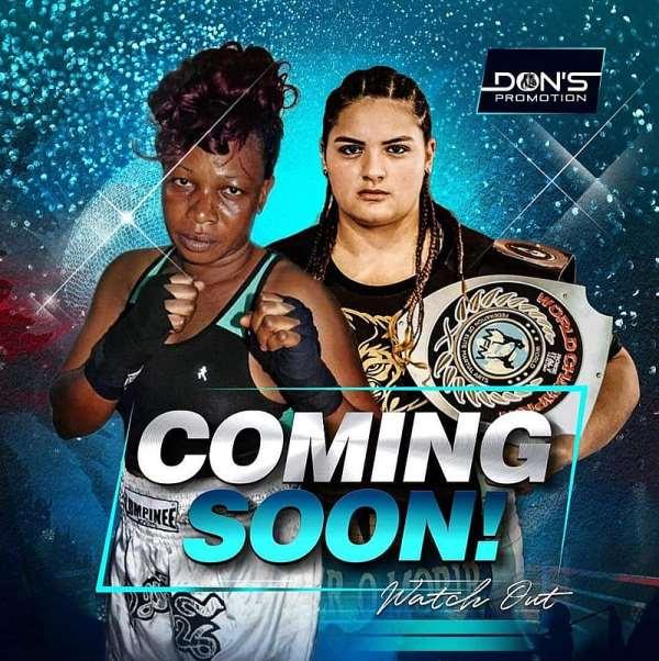 Coming Soon - Big Female Boxing Showdown At Bukom Boxing Arena
