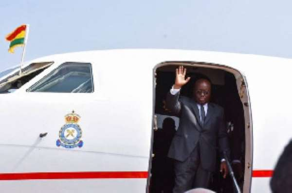 Akufo-Addo can't even bath in the Presidential jet, it's not convenient – Nitiwul justifies private jet trips