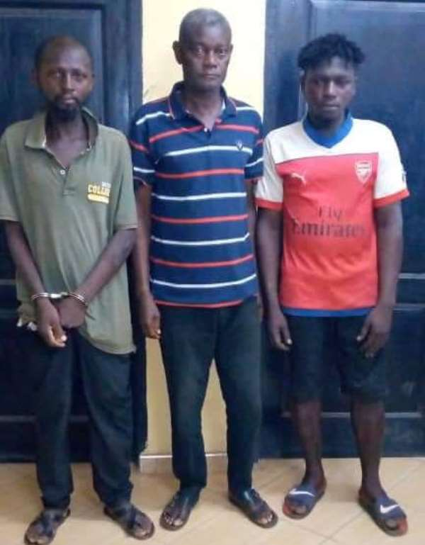 Three human parts traders arrested after police feigned interest