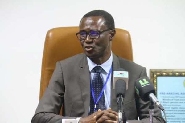 Acting Commissioner-General at the Ghana Revenue Authority, Rev. Ammishaddai Owusu-Amoah