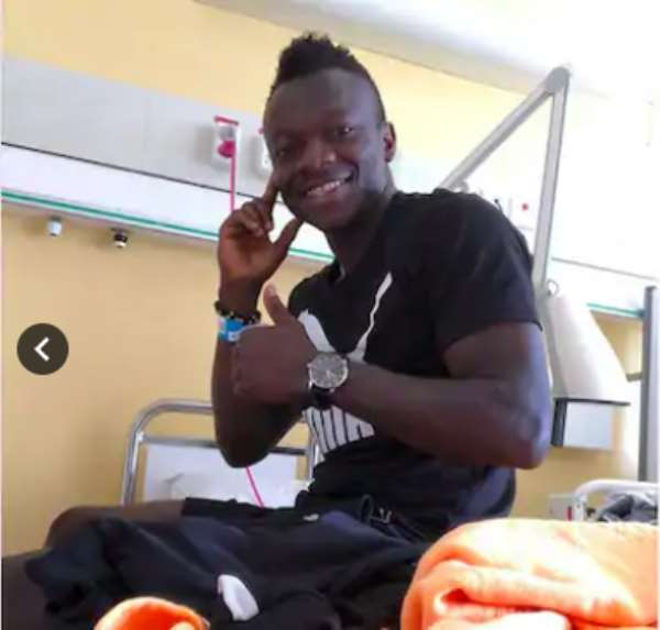Thomas Boakye Discharged From Hospital After Serious Injury In Sweden