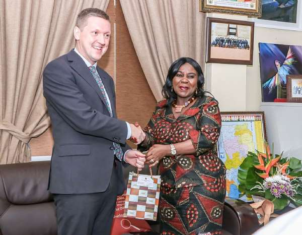 UK High Commissioner Applauds Akufo-Addo's Commitment To Sanitation
